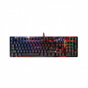 A4tech  (B810R) Light Strike RGB Animation Gaming Keyboard