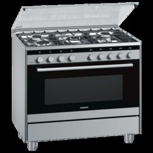 Siemens HG73G6355M Free Standing 90cm Gas Cooker
