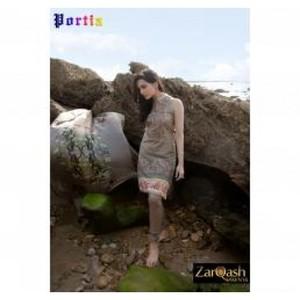 Zarqash Luxury Lawn 2016 (Portia Fabrics) ZQL-5A