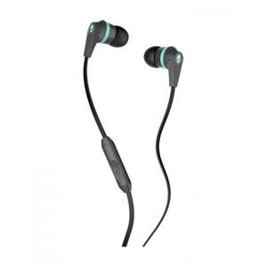 Skullcandy INKD Carbon / Carbon / Mint w Mic Earbuds S2IKGY-164