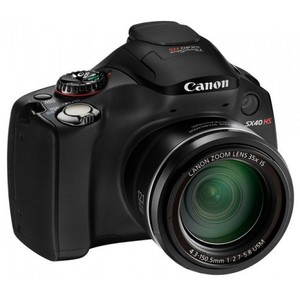 Canon PowerShot SX40 HS DSLR Camera