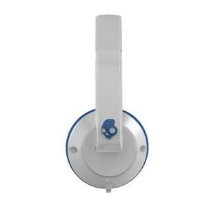 Skullcandy Uprock | White | Blue W/ Mic Earbuds S5URDY-238