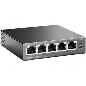 TP Link 5-Port 10/100Mbps Desktop Switch with 4-Port PoE TL-SF1005P