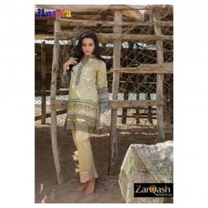 Zarqash Luxury Lawn 2016 (Portia Fabrics) ZQL-1B