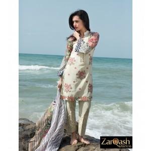 Zarqash Luxury Lawn 2016 (Portia Fabrics) ZQL-7A