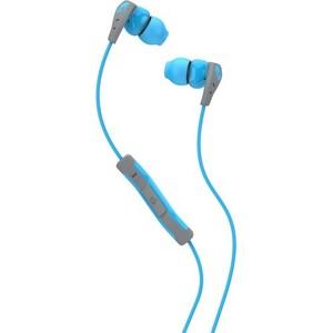 Skullcandy Method w Mic Blue / Gray / Blue Earbuds S2CDGY-401