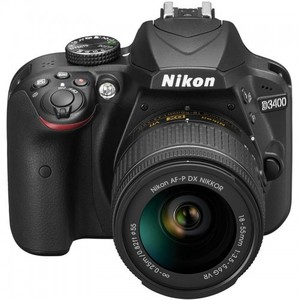 Nikon D3400 DSLR Camera | Interchangeable Lens DSLR Camera