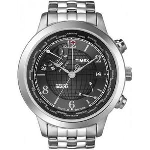 Timex Intelligent Quartz Mens PREMIUM IQ World Time T2N610