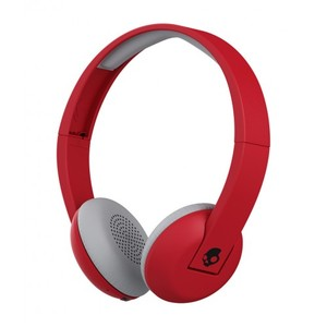 Skullcandy S5URHW-462 On-Ear Headphones (Red)