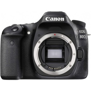 Canon Eos 80D Dslr Camera Body Only With 32GB Card & Bag