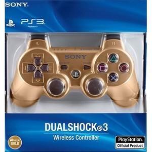PlayStation 3 Dualshock 3 Wireless Controller (Metallic Gold)