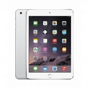"Apple iPad Mini 3 - 16GB 2GB 8MP Camera (7.9"") Retina display Wi-Fi+4G SILVER"