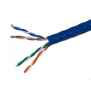 LC-C6AUB305 - UTP CAT-6A HIGH QUALITY CABLE 305M 0.60mm BAR COPPER 23 AWG (FLUCK TEST PASS)