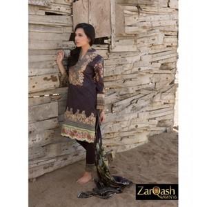 Zarqash Luxury Lawn 2016 (Portia Fabrics) ZQL-5B