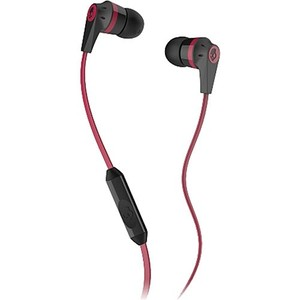 Skullcandy INKD - Black / Red w Mic Earbuds S2IKDY-010