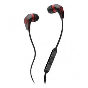 Skullcandy 50/50 | Red | Black (Mic 3) Earbuds S2FFFM-258