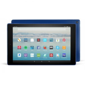 """Amazon Fire HD 10"""" with Alexa Hands-Free 64GB (7th Generation 2017) With Special Offers"""