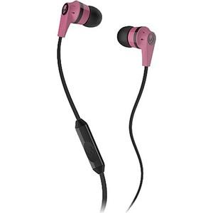 Skullcandy INK'D Black / Pink w Mic Earbuds S2IKDY-133