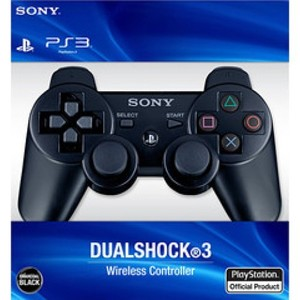 Sony PlayStation 3 Dualshock 3 Wireless Controller (Black)