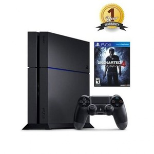 Sony PlayStation 4 - Region 2 - 1TB Ultimate Player Edition Uncharted 4 Bundle - Black
