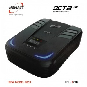 PS - HOMAGE - Inverter - OCTA UNO HOU 1208 - 1000W - 1200Va - 12V - 230VAC - 2019 NEW MODEL
