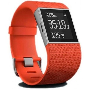 Fitbit Surge Fitness Superwatch -TANGERINE