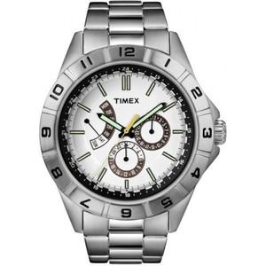 Timex Mens Style Retrograde White T2N518