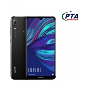 Huawei Y7 Prime 2019 32GB Dual Sim Midnight official warranty (PTA Approved)