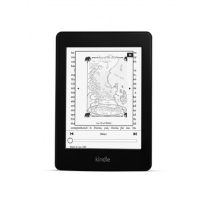 """Amazon Kindle Paperwhite 3G 6"""" with Built-in Light, Free 3G + Wi-Fi"""