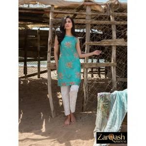 Zarqash Luxury Lawn 2016 (Portia Fabrics) ZQL-7B