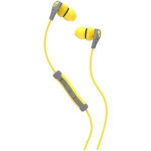 Skullcandy Method w Mic Yellow / Gray / Yellow Earbuds S2CDGY-411