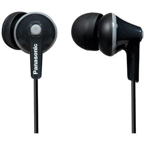 Panasonic RP-TCM125-K ErgoFit In-Ear Earbud Headphones
