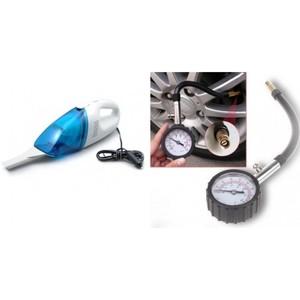 Tire Air Pressure And Vacuum Cleaner