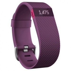 Fitbit Charge Heart Rate + Activity Wristband - Plum