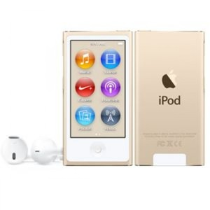 Apple iPod Nano 16GB 7th Gen (Gold/Blue/Silver)