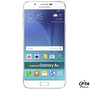 Samsung Galaxy A8 A800F (4G , 32 GB , White) - Official Warranty