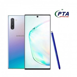 Samsung Galaxy Note 10 256GB 8GB Dual Sim Aura Glow with official warranty (PTA Approved)
