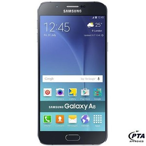 Samsung Galaxy A8 A800F (4G , 32 GB , Black) - Official Warranty