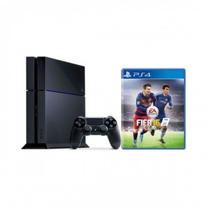 SONY Playstation 4 (500GB Console + FIFA 16 Game)