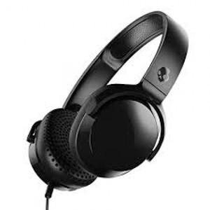 Skullcandy Riff S5PXY-L003 On-Ear Headphone with Mic (Black)