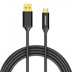 Tronsmart CPP9 Braided Nylon USB-C to USB-A 3.0 Charging & Syncing Cable (1 Feet*1, 3.3 Feet*1, 6 Feet*1 / 3 Pack)