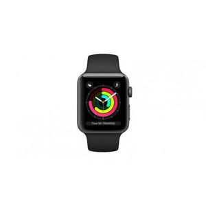 Apple Watch Series 3 MTF02 (GPS) 38mm - Space Grey Aluminium Case with Black Sport Band