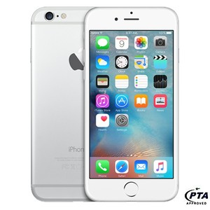 Apple iPhone 6 (128GB, Silver) - Official Warranty