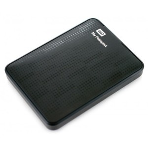 WD Passport 2TB Portable Hard Drive USB 3.0