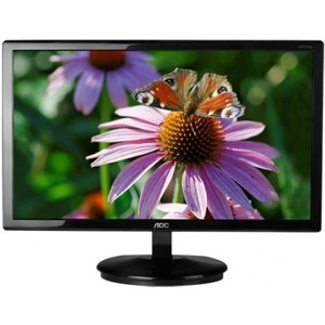 "AOC 20"" WLED Razor LED Monitor (Black) (E2043FSK)"