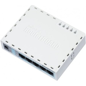 MikroTik 5 Port 10/100/1000 Router RB750GL