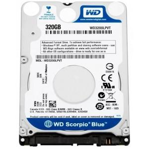 Western Digital 320GB BPVT-LPVT 8MB Cache 5400RPM SATA