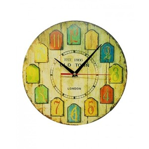 Antique Design Wooden Wall Clock