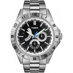 Timex Mens Style Retrograde Black T2N516