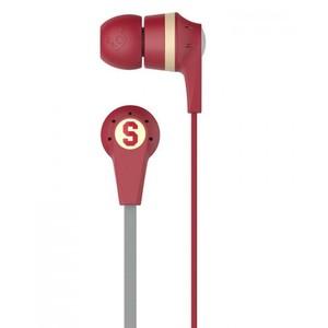 Skullcandy Ink'd 2.0 Earbud Headphones with Mic - Maroon (S2IKHY-481)